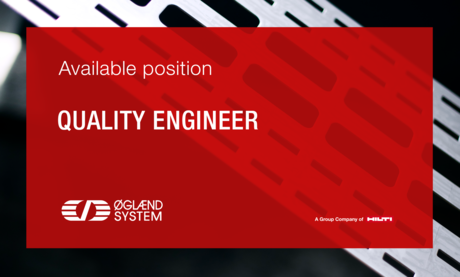 We are looking for a quality engineer
