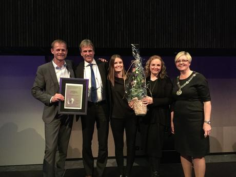 Oglaend System Group receives the Innovation prize