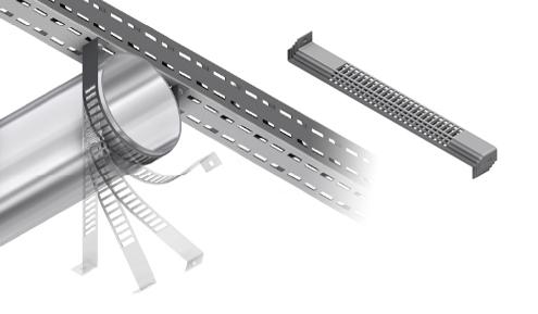 HVAC circular clamp