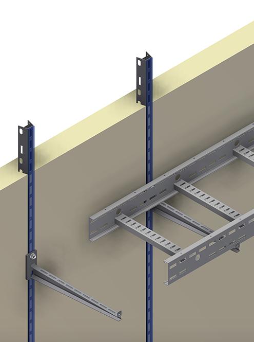 Concrete insert rail