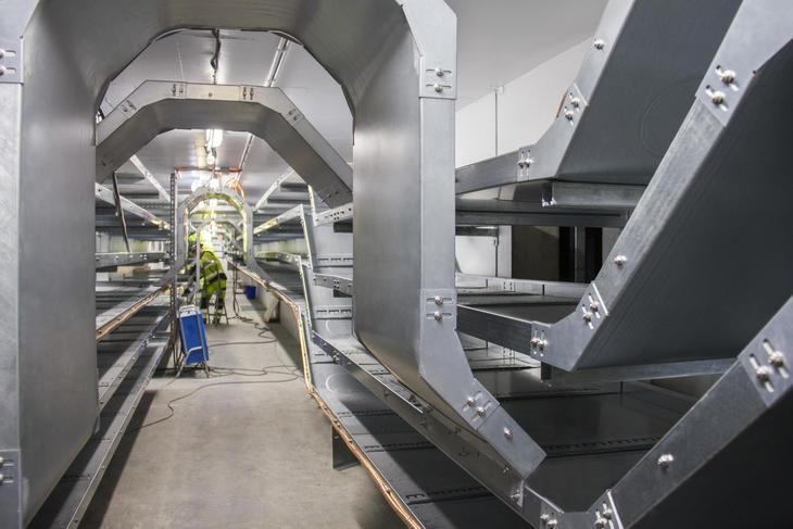 Custom-made solutions in the basement of Ertsmyra transformer station.