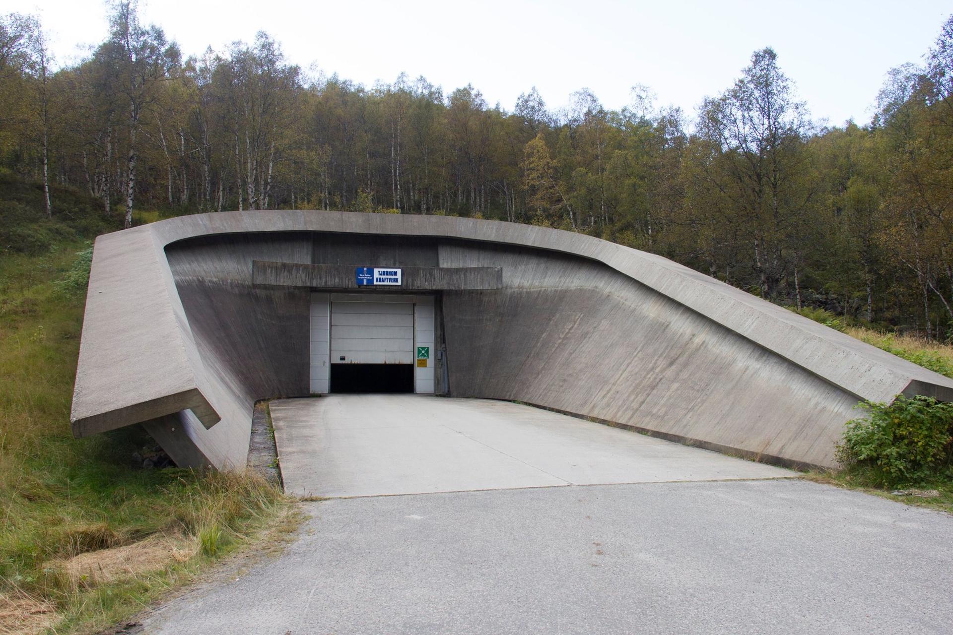 Tjørhom kraftstasjon