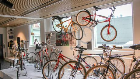 Mange kjente og populære DBS-sykler.