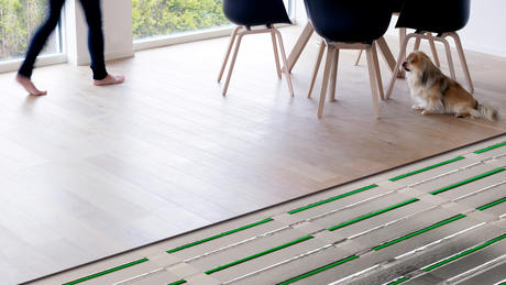 Lamiflex heating floor.