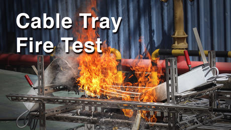 Cable Tray Fire test