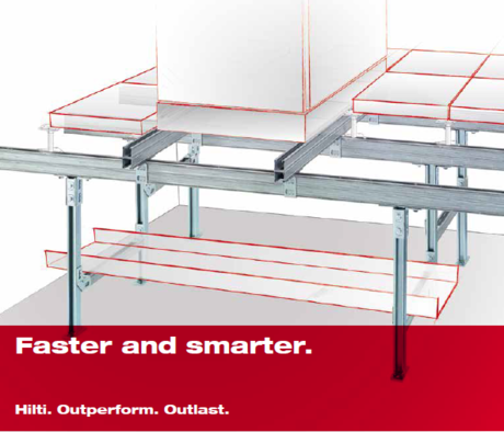 Hilti raised floor